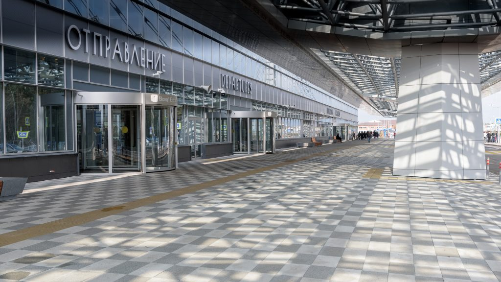 Аэропорт Красноярска KJA Вход